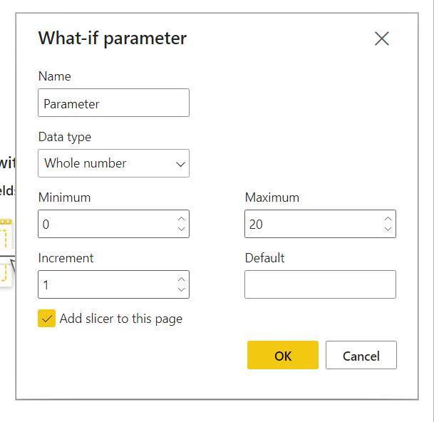 What if Parameter in Power BI