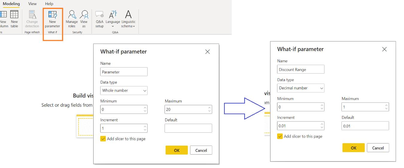 What -if parameter in power bi